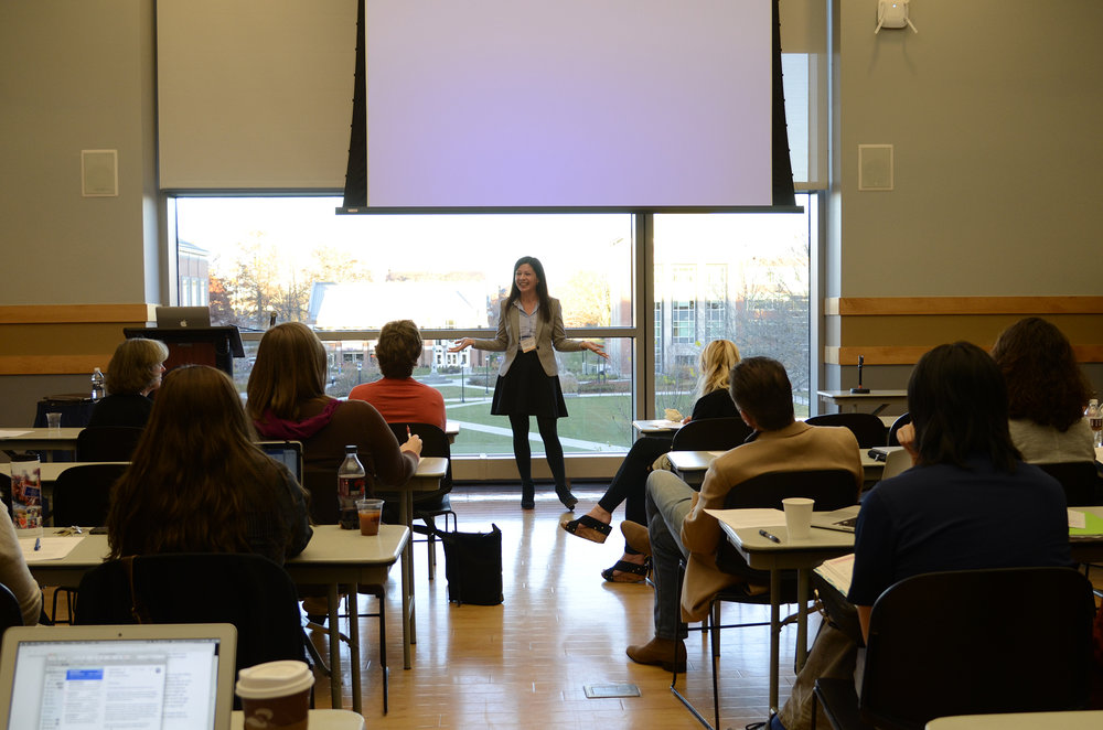 UConn's Humanities Institute hosts a two-day event called Interdisciplinary Workshop: Intellectual Humility and Public Deliberation at the Student Union Nov. 11-12.  (Charlotte Lao/The Daily Campus)