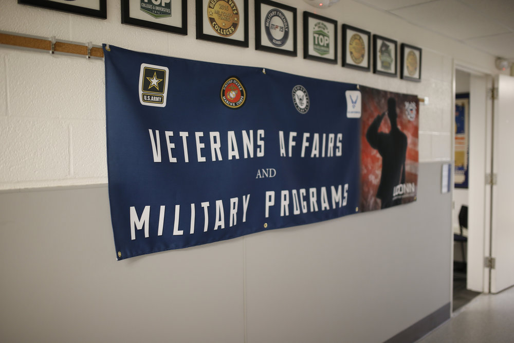 Veterans and service members and how can get help transitioning into civilian life by visiting the Veteran's Affairs lounge in Arjona. (Tyler Benton/The Daily Campus)