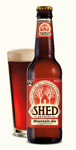 Shed Brewery's Mountain Ale is a local beer with earthy flavors, making it the perfect pairing with meats, such as roast game. (Screenshot/Shed Brewery)