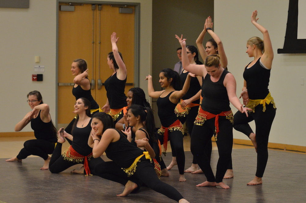 The Alima showcase went on Thursday night on November 18th. (Akshara Thejaswi/The Daily Campus)