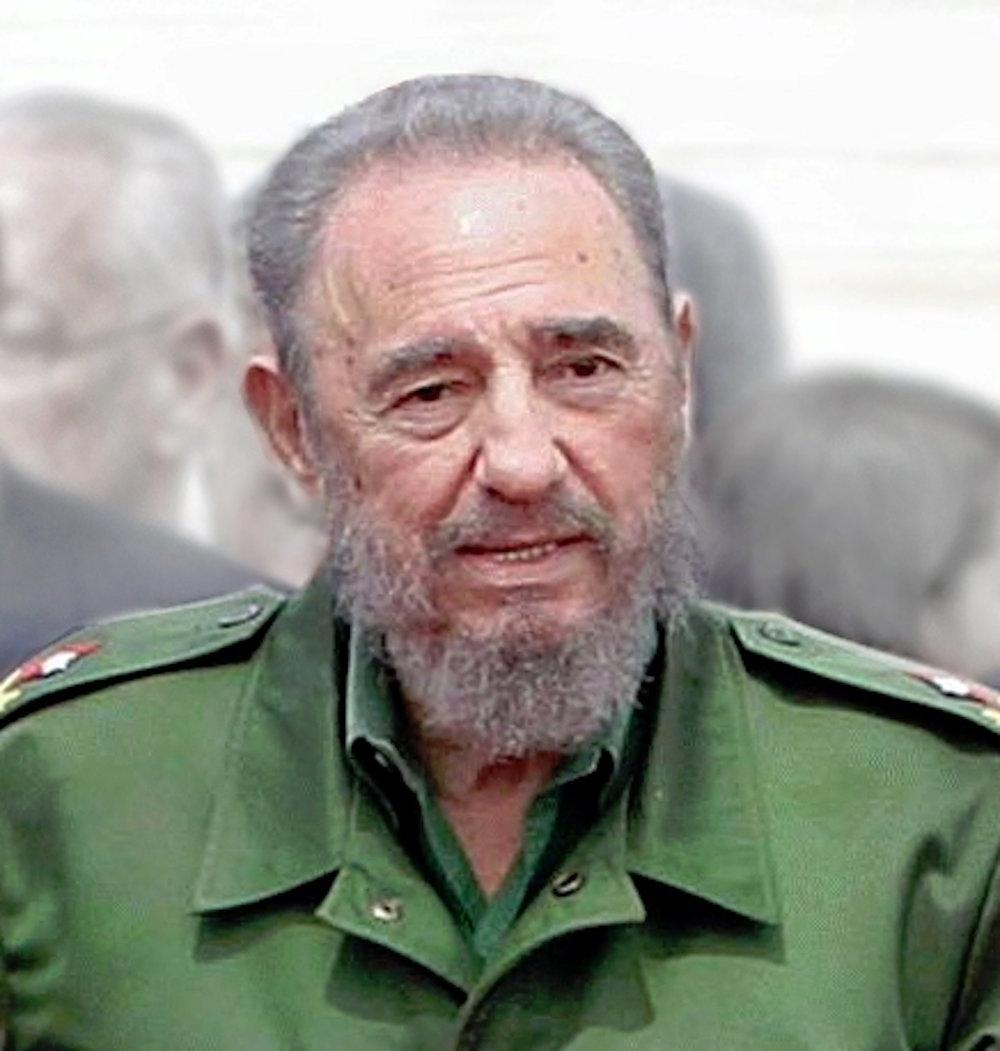 Fidel Castro, Cuba's former leader. (Antonio Milena/Wikimedia Creative Commons)