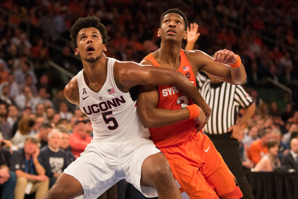 Column Uconn Syracuse Rivalry Is Still One Of College S Best The
