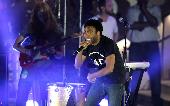 Childish Gambino (Donald Glover) performs at Boulevard Pool at The Cosmopolitan of Las Vegas on May 27, 2012. (The Cosmopolitan of Las Vegas/ Flickr, Creative Commons )