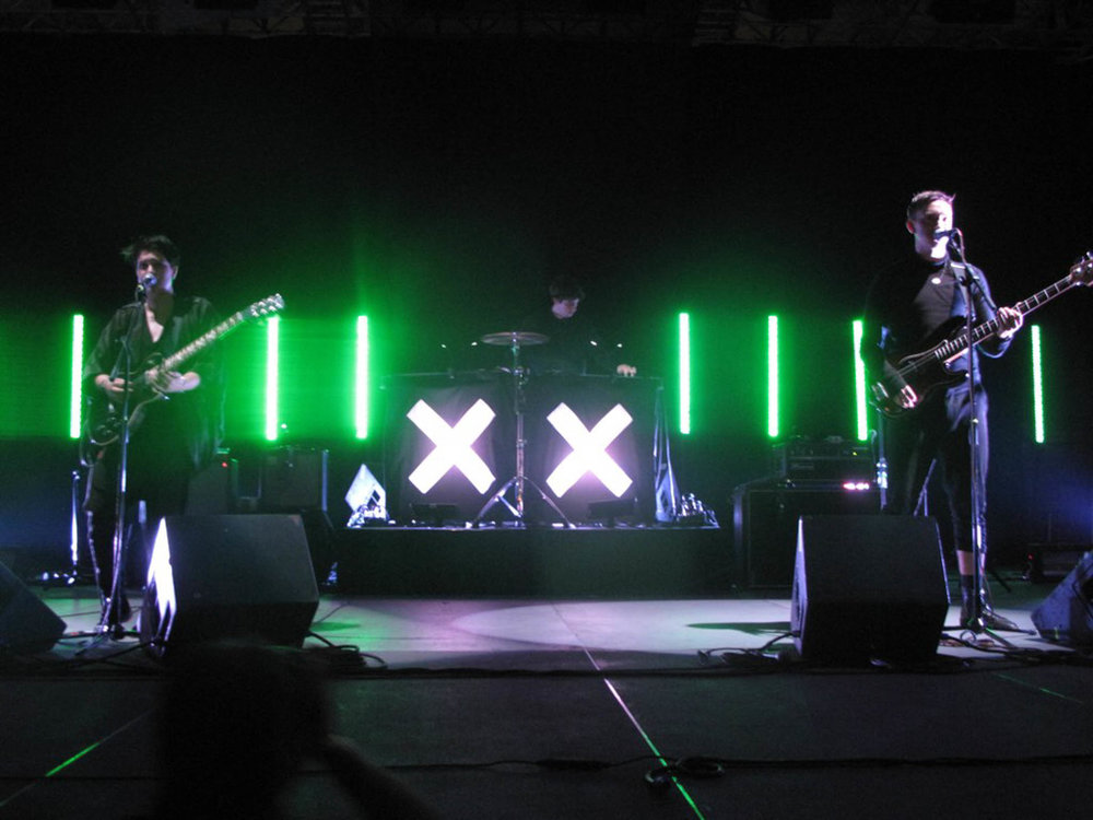 The xx performs at the Central Park Summerstage in 2010. The band has recently released a new album after an almost five year hiatus. (jamieleto/Flickr Creative Commons)