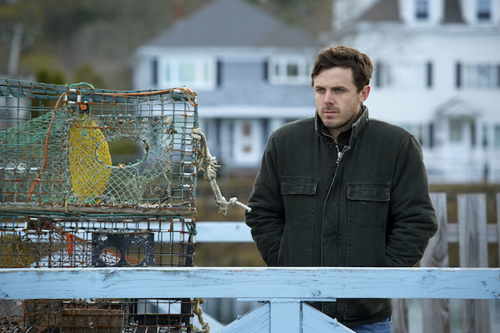 "This image released by Roadside Attractions and Amazon Studios shows Casey Affleck in a scene from ""ManchesterBy The Sea."" (Claire Folger/Roadside Attractions and Amazon Studios via AP)"