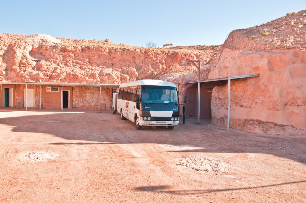 A look at the underground abodes in Coober Pedy, Australia. Over 80% of the towns residents live in subeterranean caves. (Graeme Churchard/ Flickr)