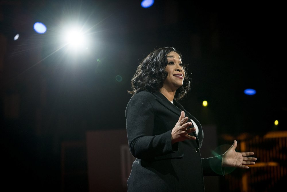 Shonda Rhimes gives a Ted talk, as well as welcomes her premiere on Thursday evening dedicated to Shondaland. (Ted Conference/Flickr Creative Commons)
