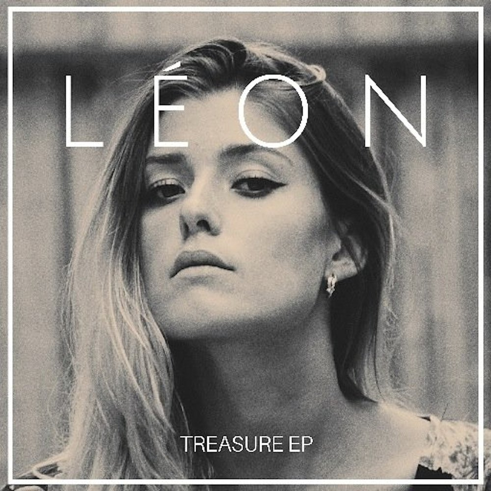 The cover of Léon's debut EP, Treasure, released in 2015. (Photo courtesy of Léon)