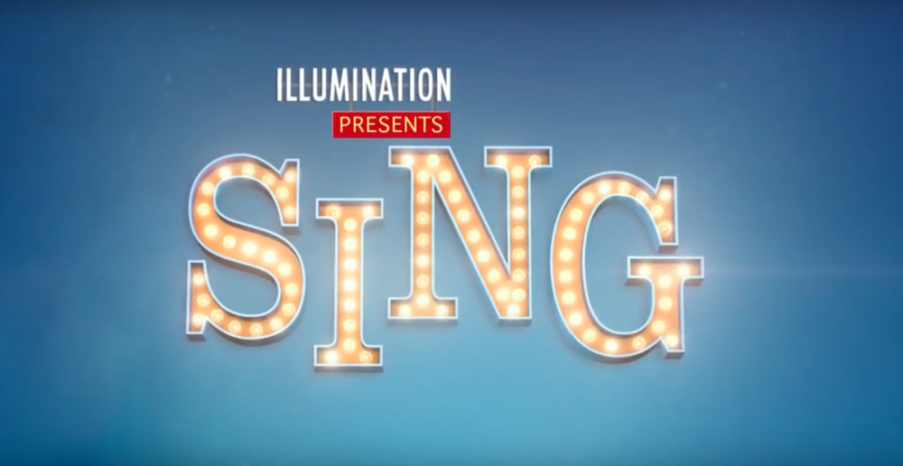 "Screenshot of the trailer for the new animated movie ""Sing"" ( youtube.com )"