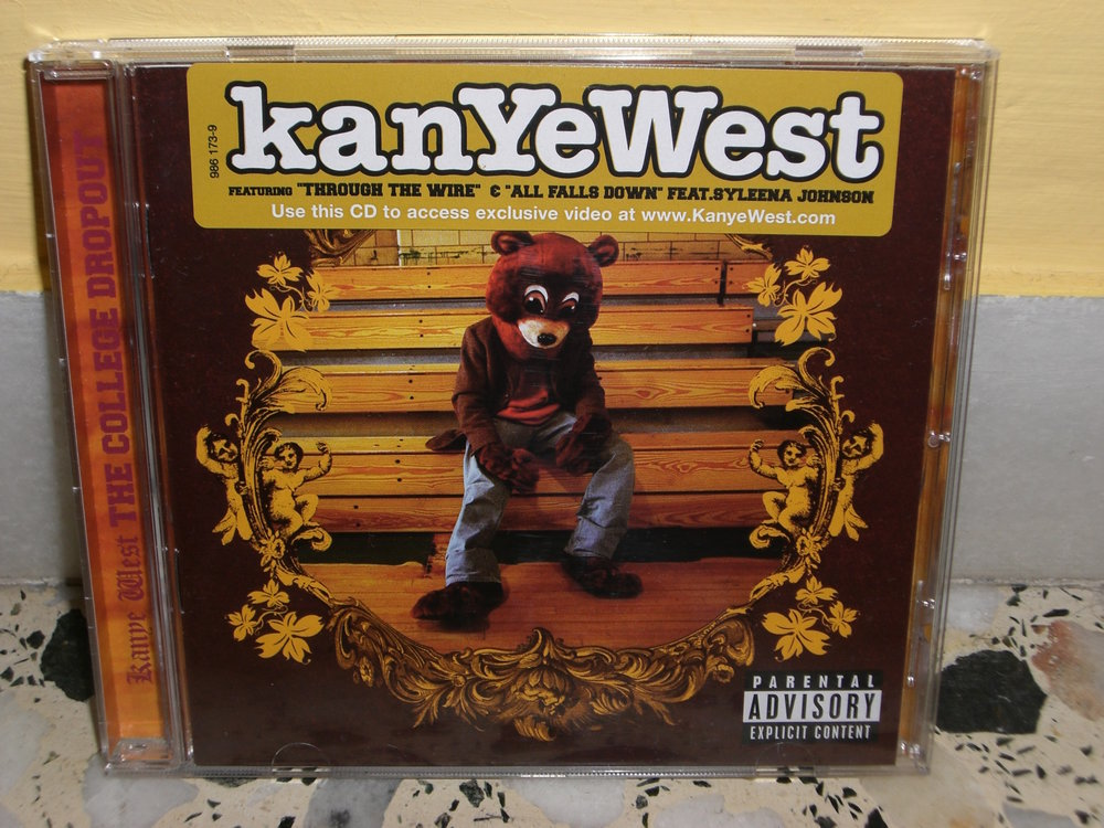 The album that inspired the sweatshirt: The College Dropout by Kanye West. (Charles Laine/Flickr, Creative Commons)