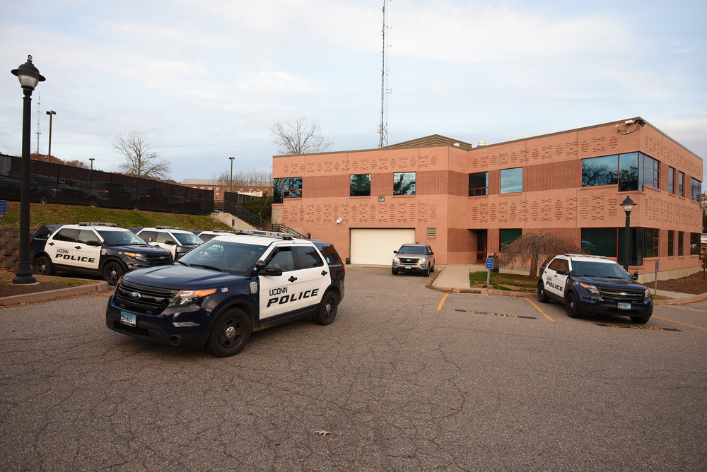 The University of Connecticut's Police Department has continued its tradition of releasing a survey for students to evaluate the police's performance and has established a good track record of implementing suggested changes.  (Zhelun Lang/The Daily Campus)