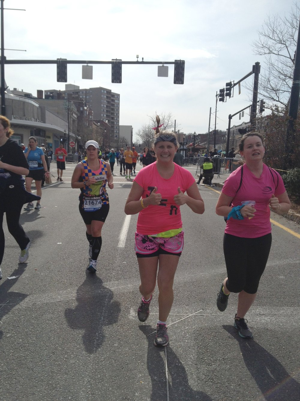 Jennifer Pace ran in the 2013 Boston Marathon and has plans to run again this year. (Courtesy/Jennifer Pace)