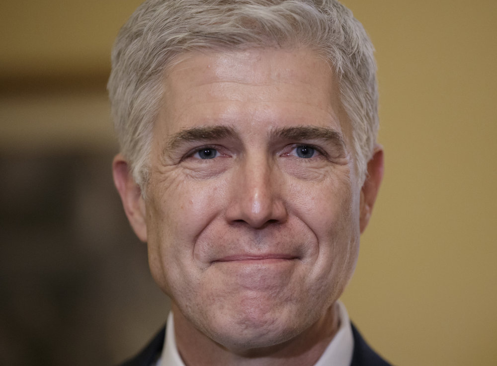 Neil Gorsuch was announced as President Donald Trump's Supreme Court nominee Tuesday, Jan. 31, 2017. Obama tried to fill the seat after Justice Antonin Scalia passed last year but was blocked by Senate Republicans. (AP Photo/J. Scott Applewhite)