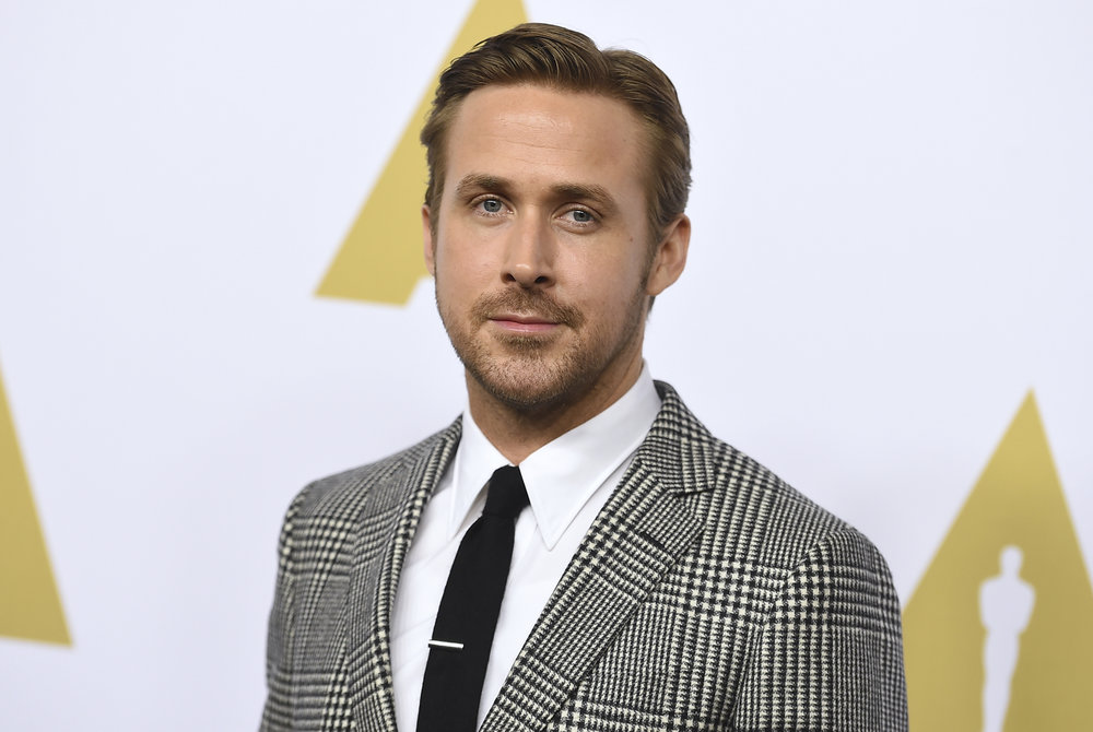 Ryan Gosling arrives at the 89th Academy Awards Nominees Luncheon at The Beverly Hilton Hotel on Monday, Feb. 6, 2017, in Beverly Hills, Calif. (Photo by Jordan Strauss/Invision/AP)