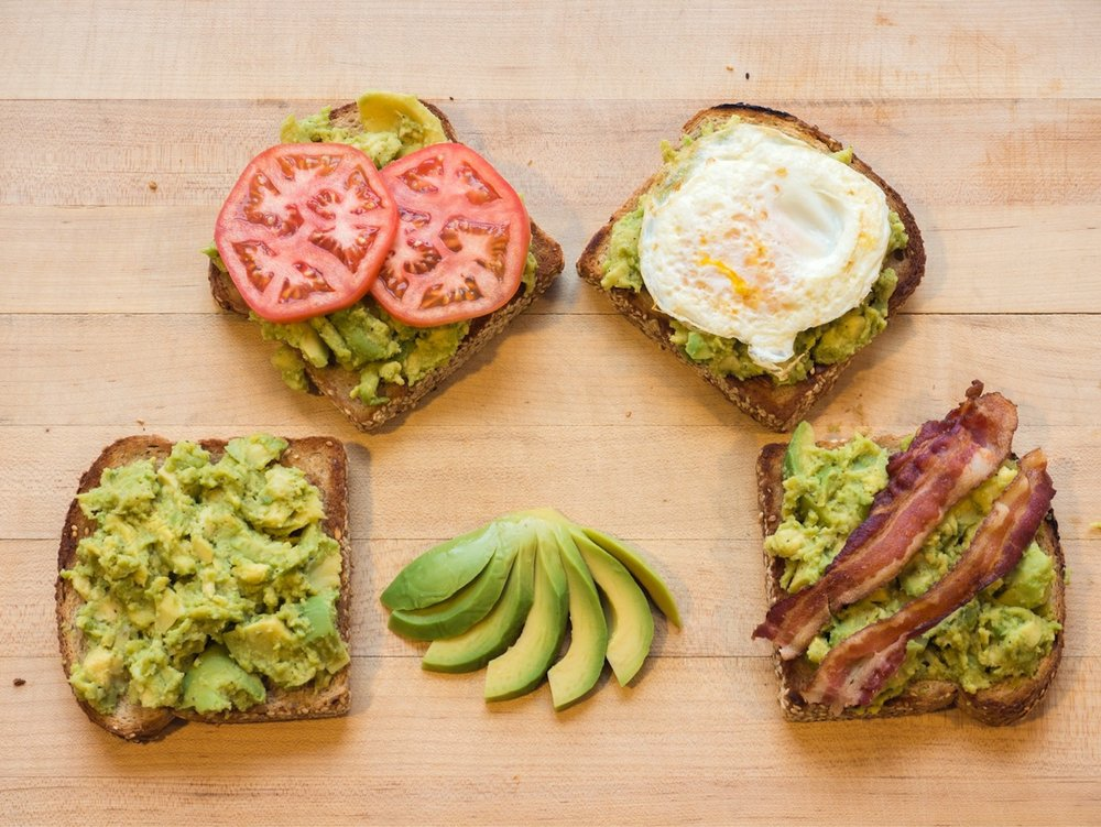 A look at UConn's Dining Services new avocado toast, on the menu in the Student Union as of Tuesday. (Photo courtesy of Dining Services)