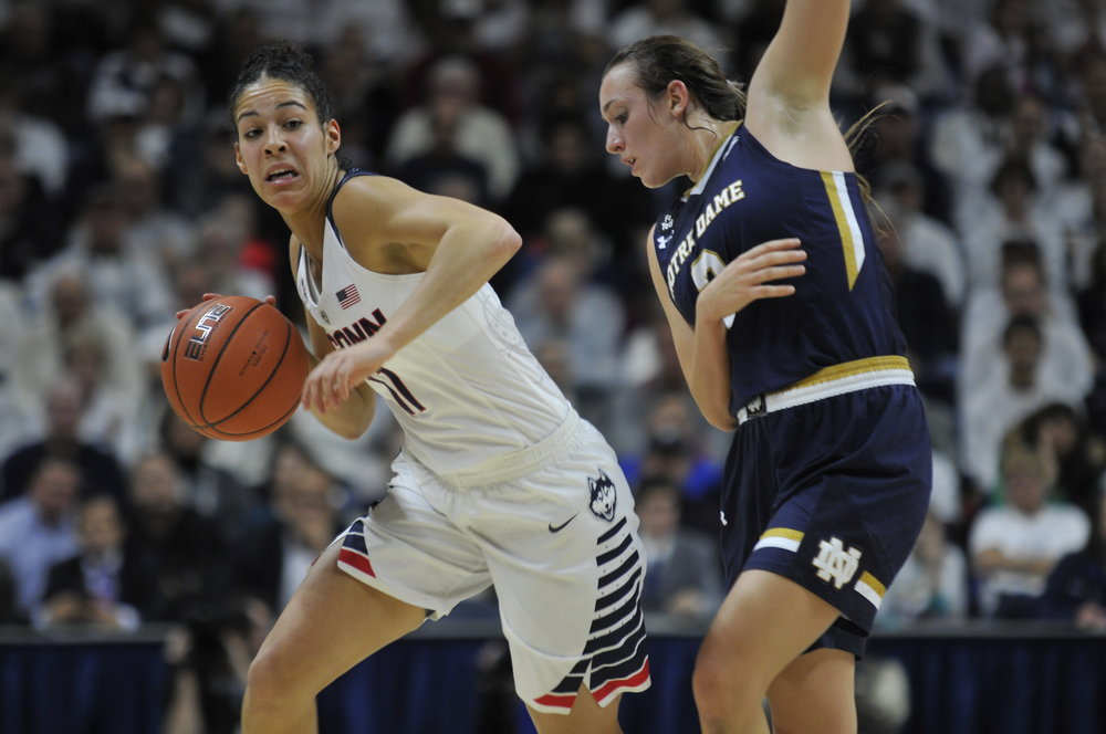 12/5/2015 Women's Basketball vs Notre Dame