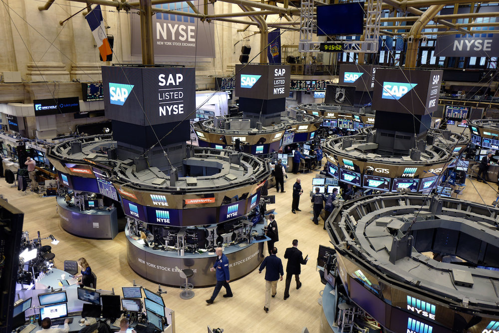 Traders work the floor at the New York Stock Exchange, Thursday, Feb. 9, 2017. (AP Photo/Mark Lennihan)