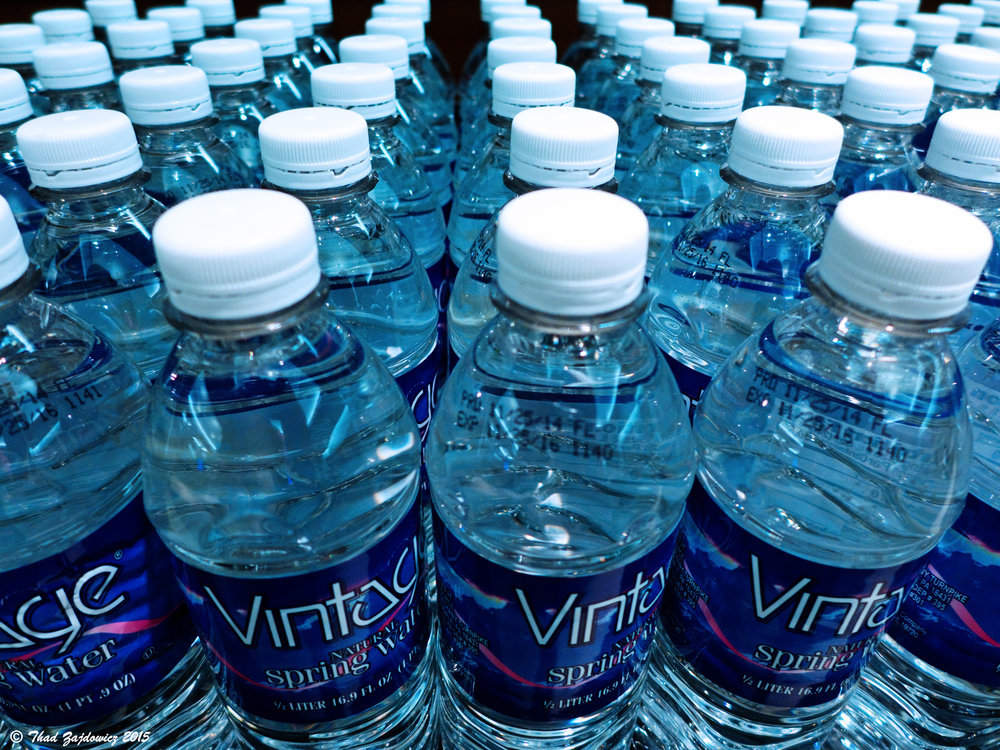 "Student activist group UConnPIRG and the Undergraduate Student Government Sustainability Committee are collaborating to gradually ban the sale of single-use disposable water bottles at the University of Connecticut as part of the UConnPIRG ""Ban the Bottle"" campaign. (Thad Zajdowicz/Flickr Creative Commons)"