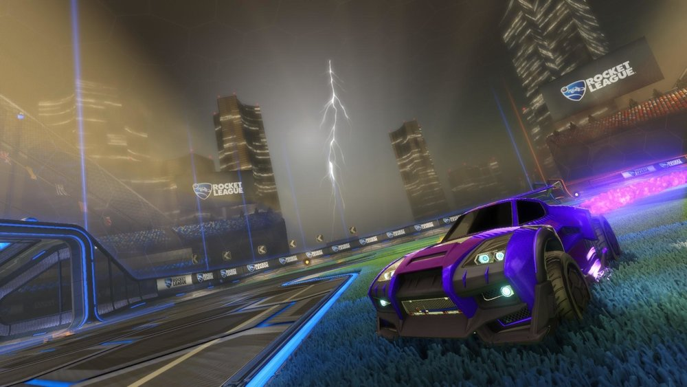 """Rocket League"" is a simple sport-oriented e-sport that might pave the way for the future of e-sports in America. (Screenshot via rocketleaguegame.com)"