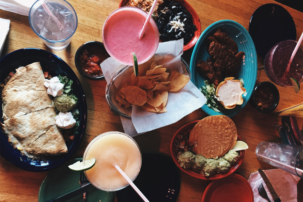 Guacamole, chicken tenders and quesadillas can all be purchased for a decent price at Chuck's Margarita grill which is located about ten minutes from campus. (Angie DeRosa/The Daily Campus)