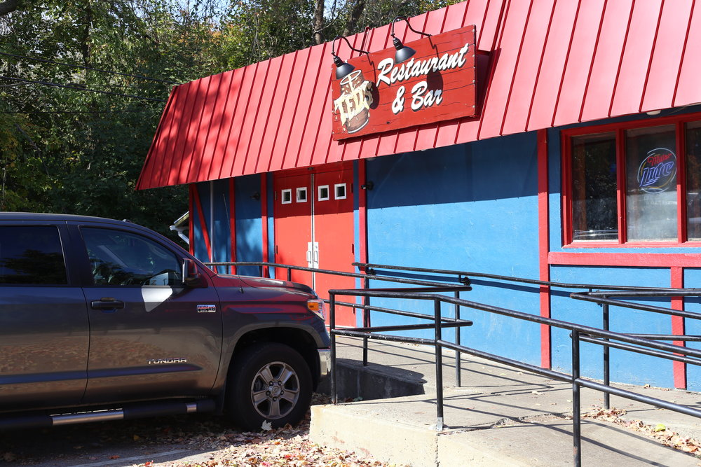 Ted's Resturant and Bar, the best damn watering hole on campus and the place that one of our writers got someone kicked out of over the weekend. (Jackson Haigis/The Daily Campus)