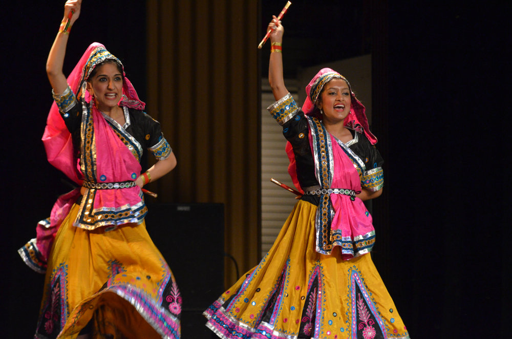 UConn Thunderaas participate in Asian Nite 2017 on Saturday evening at the Jorgensen Center for the Performing Arts. (Akshara Thejaswi/The Daily Campus)