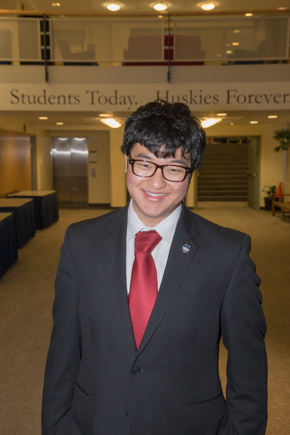 USG speaker George P. Wang is running for a board of trustees seat with a platform that focuses on representing students' interests in a difficult financial time, increasing understanding of the board's work and reaching out directly to student groups. (Courtesy/George P. Wang)