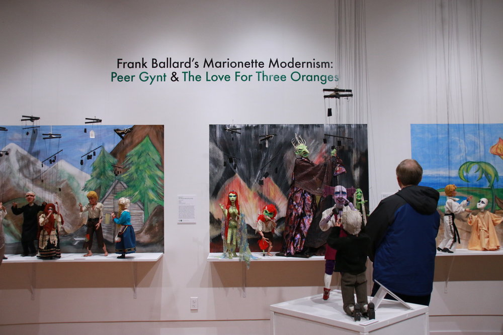 "The Ballard Institute and Museum of Puppetry at the University of Connecticut presented the grand opening of Frank Ballard's Marionette  Modernism: Peer Gynt and The  Love for Three Oranges"" on Saturday, Oct 22, 2016. It will host the first Innovation Night in Connecticut on April 10, 2017. (Yuwei Zhao/The Daily Campus)"