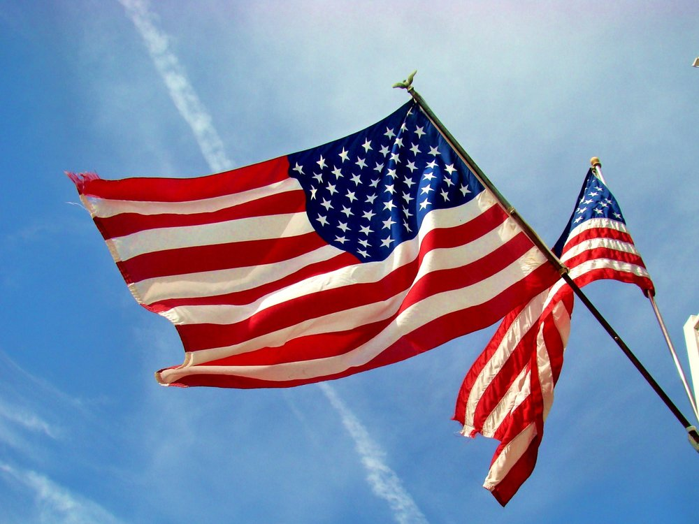 The American flag is one of the many symbols of American patriotism and love for one's country. (Eric Lynch/Creative Commons Flickr)