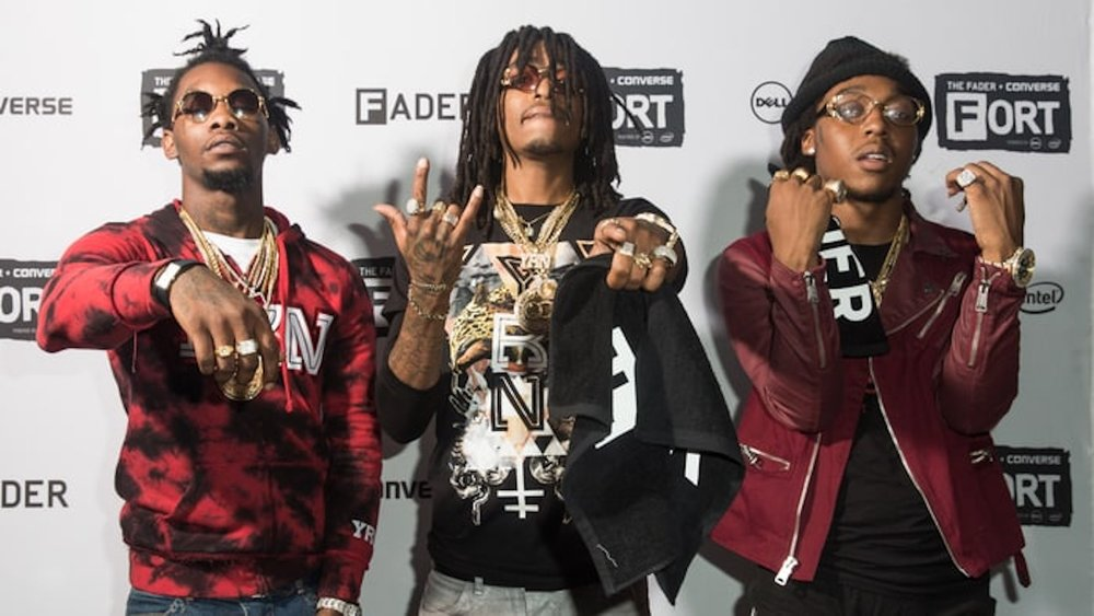 "Migos may have hinted they are coming to UConn through their music video ""Cross the Country."" (Photo courtest of Rolling Stone)"