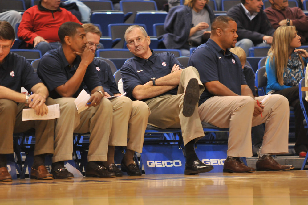 It was always going to be Jim Calhoun running the show. We wouldn't go into battle with anyone else at the helm. (File Photo/The Daily Campus)
