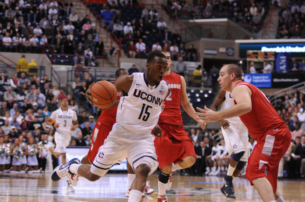After averaging 23.5 points per game his senior year and carrying his team through a laborious Big East Tournament and NCAA tournament to a pair of trophies, Kemba Walker projects as the team's alpha dog. (File Photo/The Daily Campus)