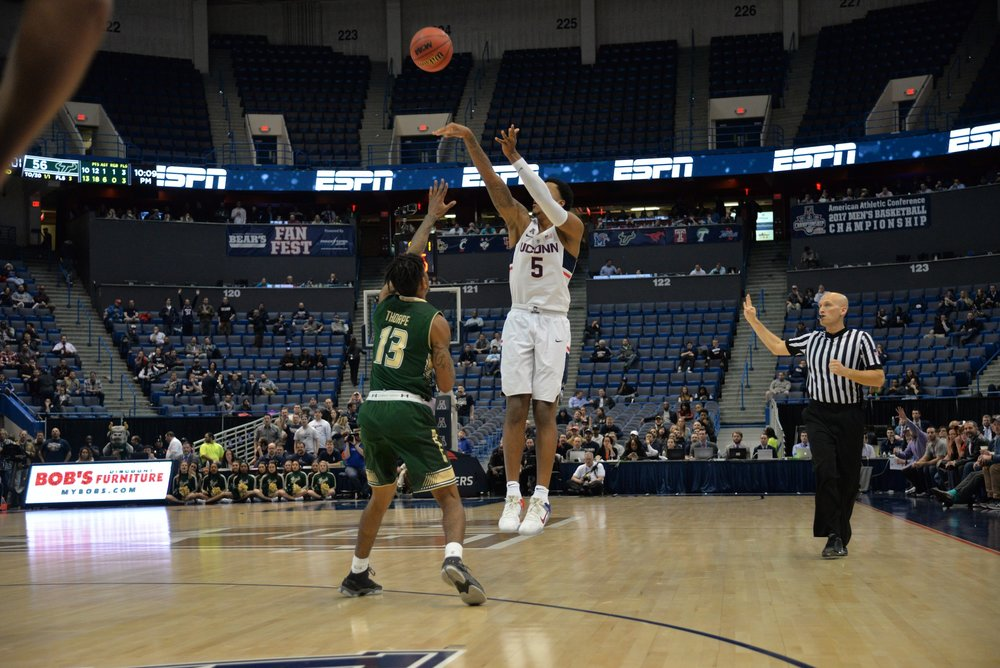 Men's Basketball:UConn vs USF