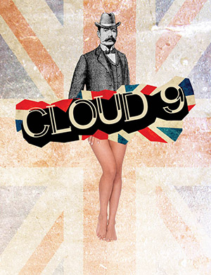 "Poster for ""Cloud 9"" a provocative comedy directed by Elizabeth Williamson, at the Hartford Stage Company. (Photo via Hartford Stage Company)"