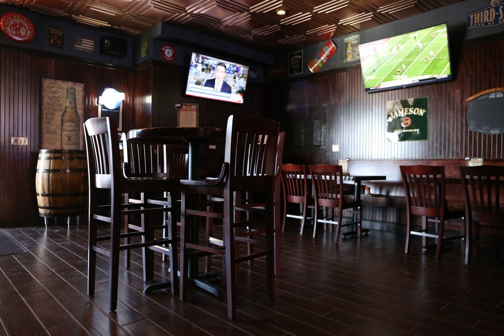 The inside of the new Huskies Tavern, located in the same plaza as Huskies Bar. The tavern will open on Wednesday, March 22, 2017. (Jackson Haigis/The Daily Campus)