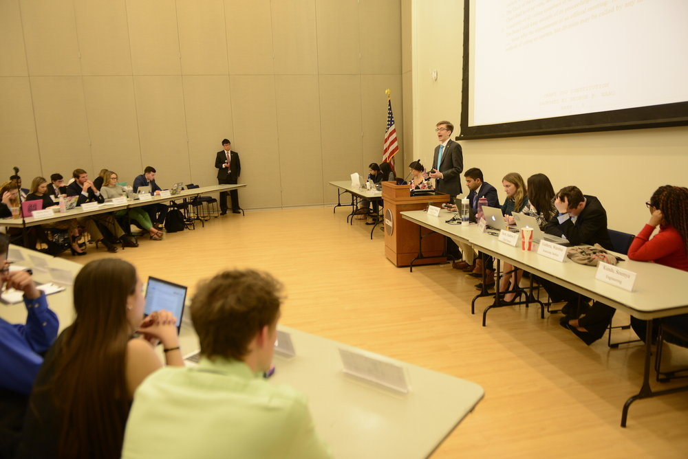 After USG election results were held from students for over two weeks, a recent Daily Campus article shows the USG judiciary has been involved in every presidential election since 2011, except in 2015 when Rachel Conboy ran unopposed. (Jason Jiang/The Daily Campus)