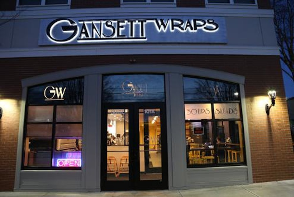 Gansett Wraps located on Royce Cir. is known for their great food and healthy alternatives. (Photo courtesy to Gansett Wraps)