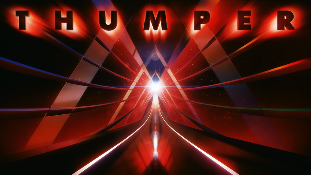 THUMPER a psychedelic, rhythm game of violence was released last October to a lot of praise. (Photo courtesy of THUMPER)
