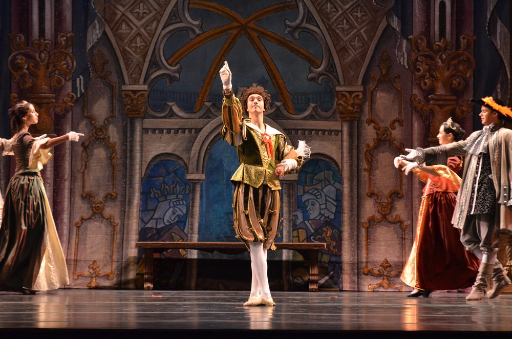"The Russian National Ballet Theatre brought the classic fairytale ""Sleeping Beauty"" to life at the Jorgensen Center for the Performing Arts Thursday night. (Akshara Thejaswi/The Daily Campus)"