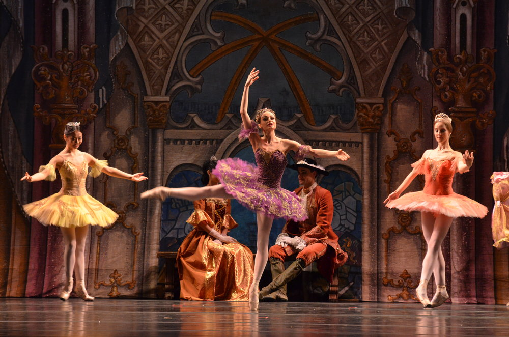 "The Russian National Ballet Theatre first premiered ""The Sleeping Beauty"" in 1980, and continues to perform it on stage to this day. (Akshara Thejaswi/The Daily Campus)"