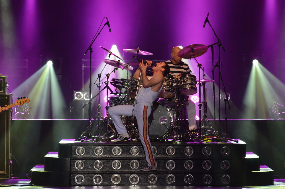 Gary Mullen & The Works captivated the audience at Jorgensen on Saturday, April 1, recreating the pomp and showmanship of rock icon Freddie Mercury during One Night of Queen. (Akshara Thejaswi/The Daily Campus)