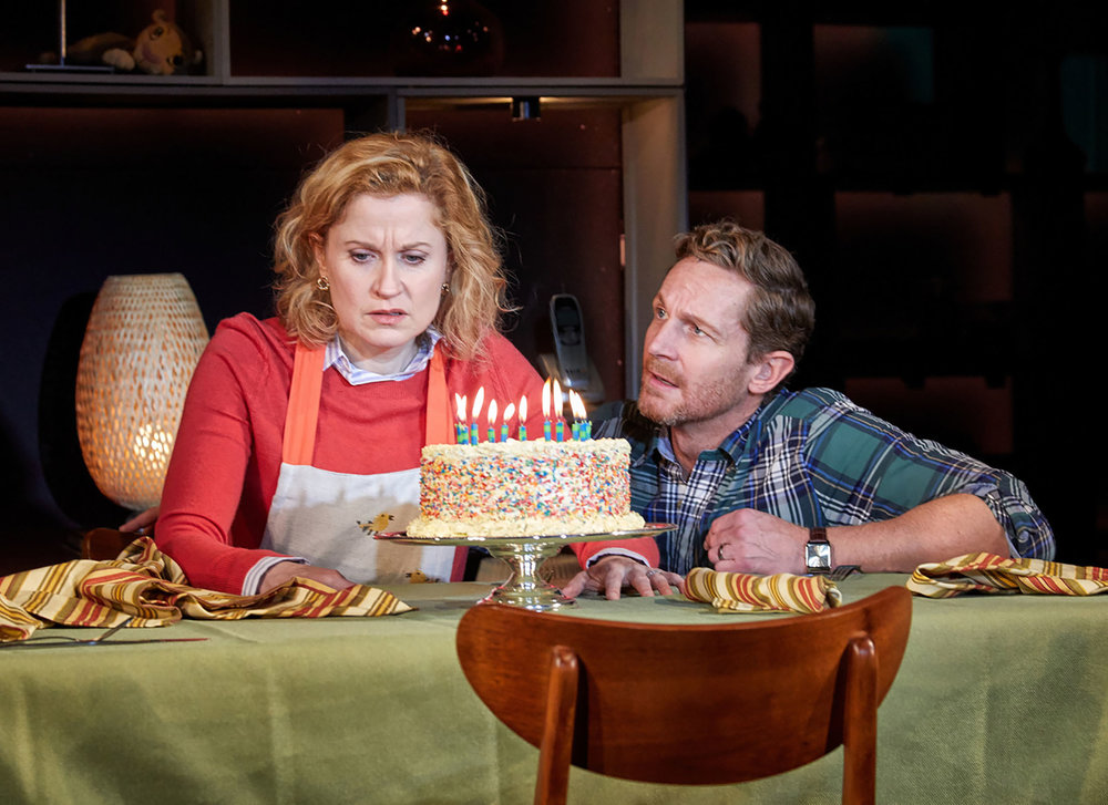 "Christiane Noll and David Harris in TheatreWorks musical, ""Next to Normal"".  (photo from TheatreWorks)"