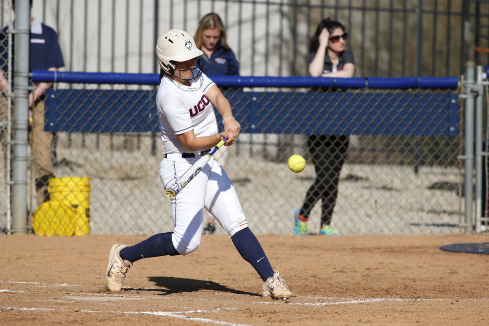 The Huskies were swept by the University of Houston in a three game series this weekend in Texas. (Tyler Benton/The Daily Campus)