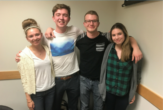 "UConnPIRG's 2017-18 chair will be Casey Lambert (far right), a fourth-semester environmental science major who currently serves as UConnPIRG secretary and ""Ban the Bottle"" campaign coordinator. (Courtesy/Casey Lambert)"