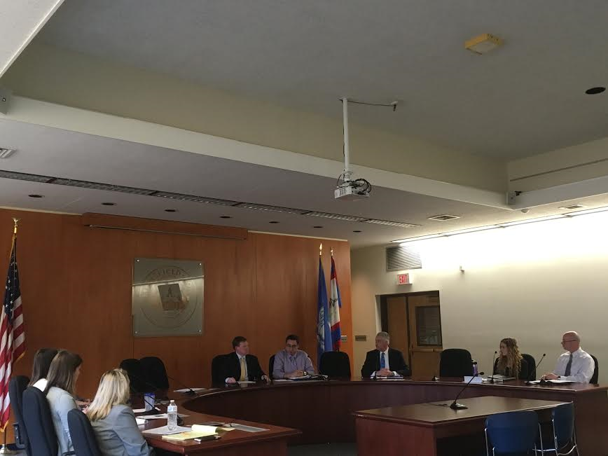 The Town-University relations committee met on Tuesday afternoon to discuss UConn student enrollment numbers from the last few years. (Alexandra Retter/The Daily Campus)