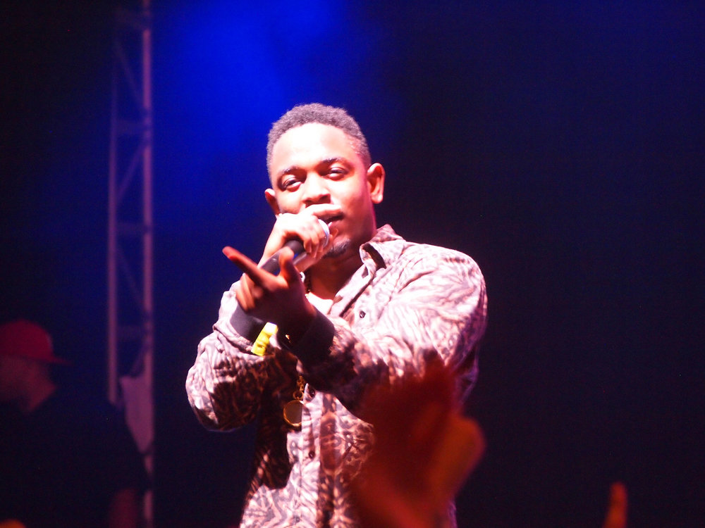 Kendrick Lamar performs at Bonnaroo in Manchester, Tennessee in June of 2012. Lamar's new album will be released on Apple Music at 11 p.m. on Thursday, April 13. (Jon Elbaz/Creative Commons)