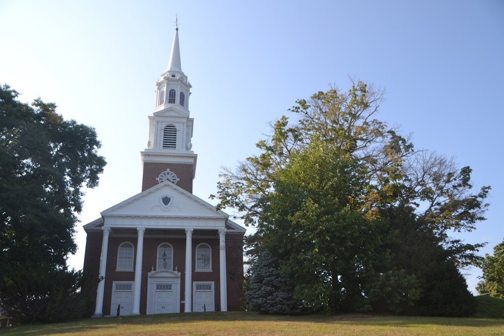 The Storrs Congregational Church, located on North Eagleville Road will offer a prayer vigil from noon to 3 p.m. today for Good Friday. (Bailey Wright/The Daily Campus)