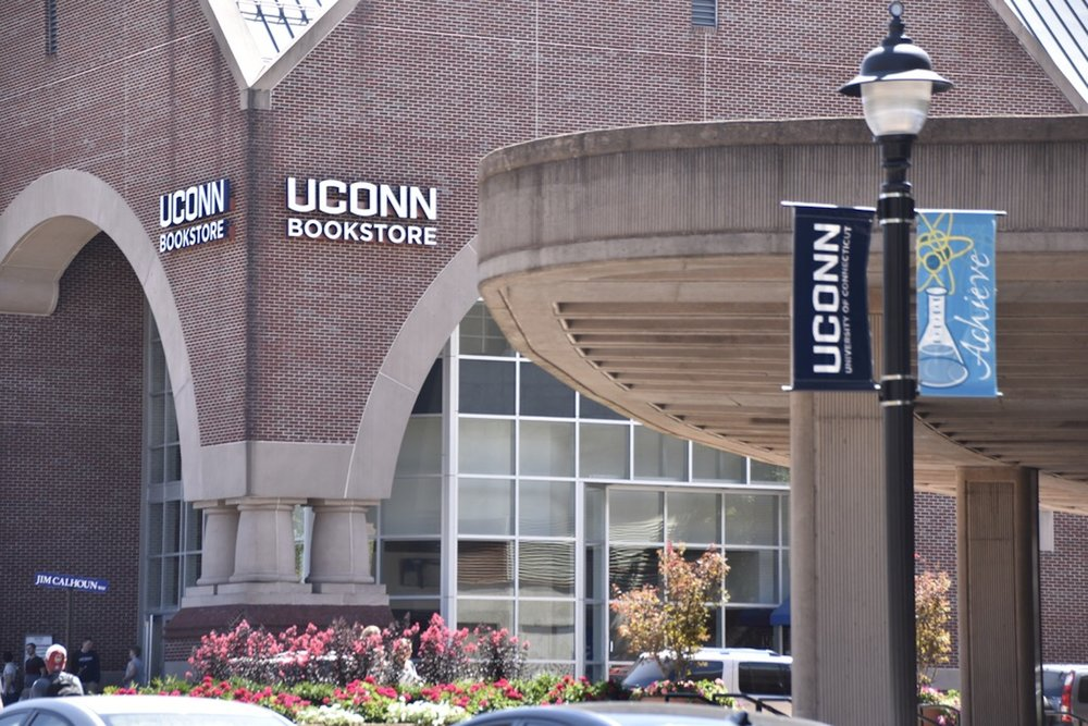 The newly reopened UConn Bookstore is to be renovated begining on Monday to make it a more inviting space for students. (Grant Zither/The Daily Campus)