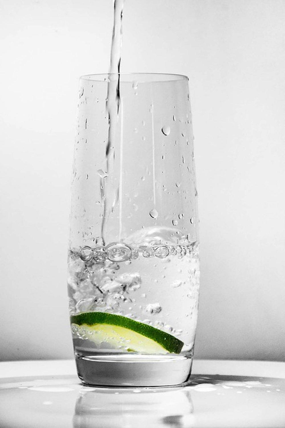Although it may be difficult, there are several ways to get those 8 glasses of water a day that our bodies crave. (Saramukitza/Creative Commons)