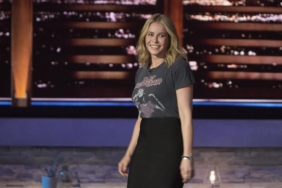 Comedian Chelsea Handler spoke to severl college students across the country Thursday during a press conference about politics, her new snow and general advice. (Sunshine Sacs)